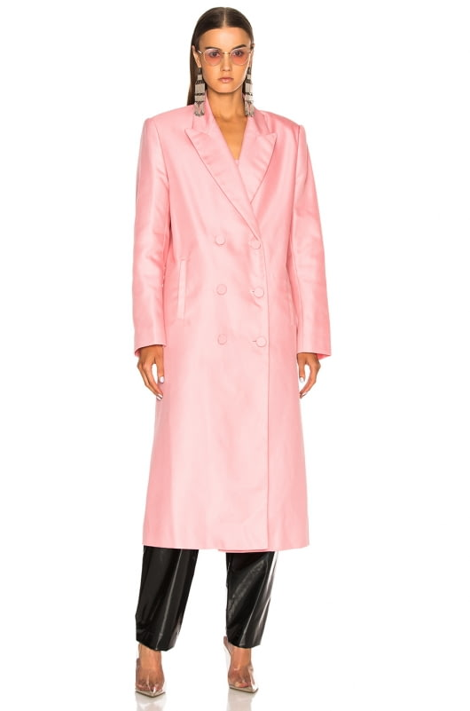 Helmut Lang x Shayne Oliver Double Breasted Coat