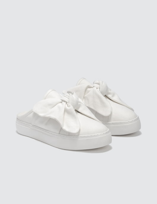 SJYP Ribbon Mule Sneakers