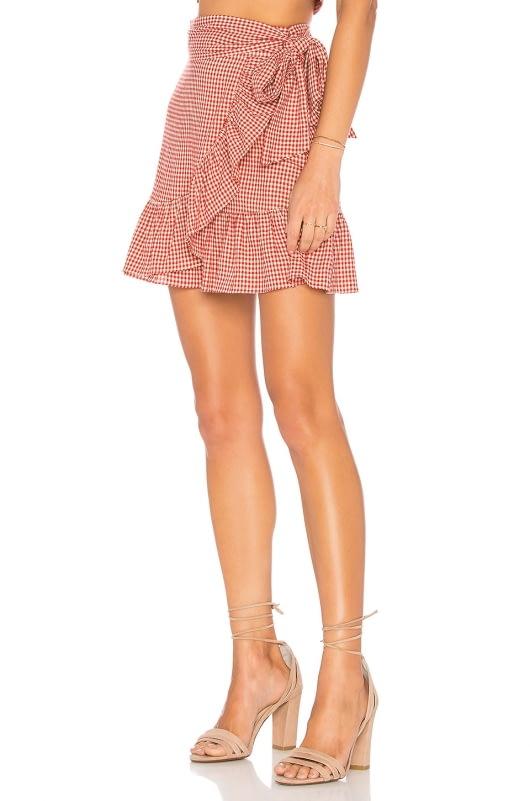 Tularosa Maida Ruffle Skirt