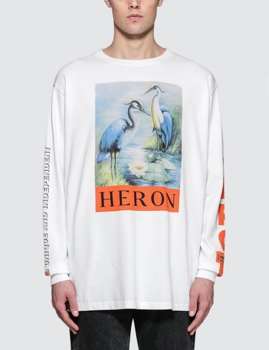 Heron Preston KK Herons Jersone L/S T-Shirt