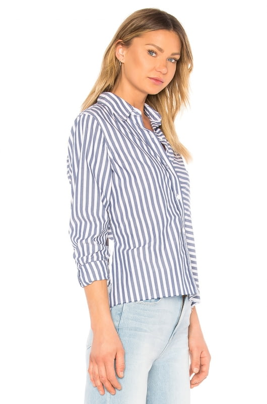 Current/Elliott The Des Stripe Shirt