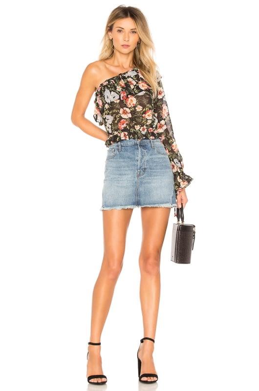 J Brand Bonny Mini Skirt