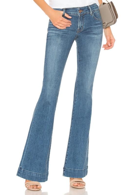 J Brand Lovestory Flare Jean