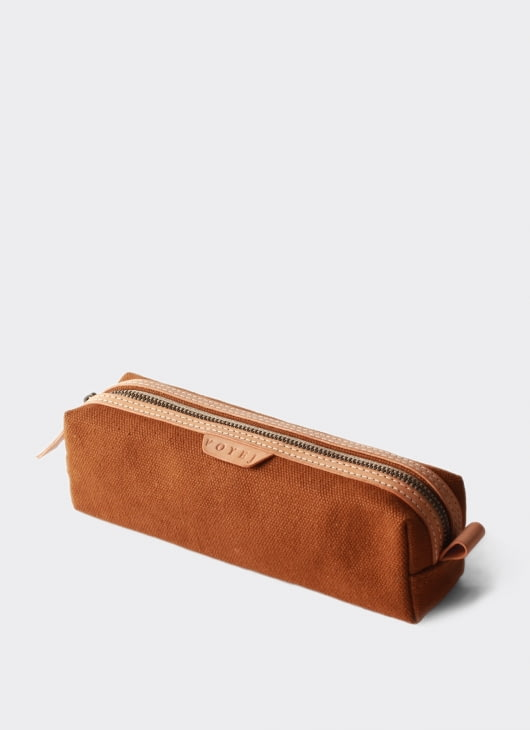 VOYEJ LEATHER GOODS Brown IV Pencil Case