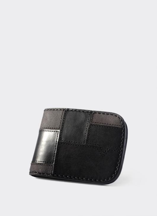 VOYEJ LEATHER GOODS Black Vessel Vestigial Wallet
