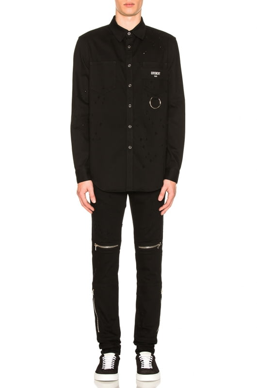 Givenchy Shirt with Pocket Detail