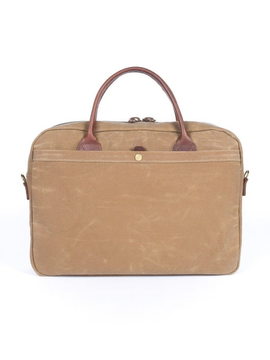 Wood&Faulk Wood&Faulk Folio Briefcase High Desert Sage