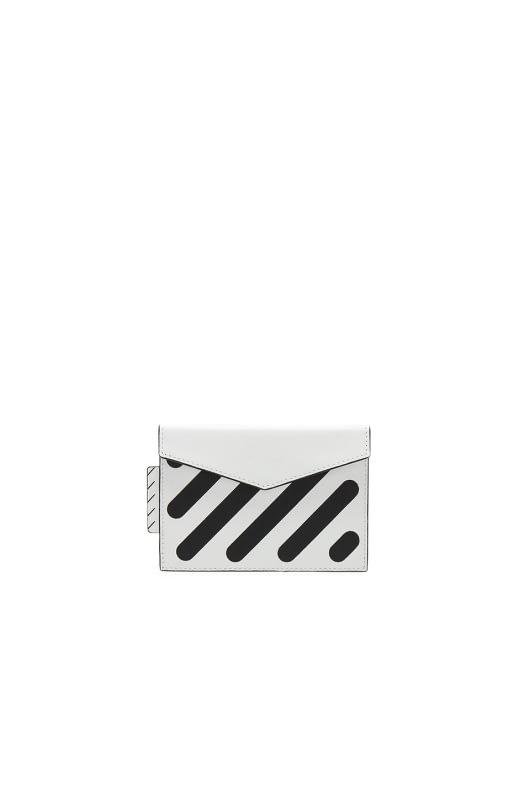 OFF-WHITE Diagonal SLG Small Wallet