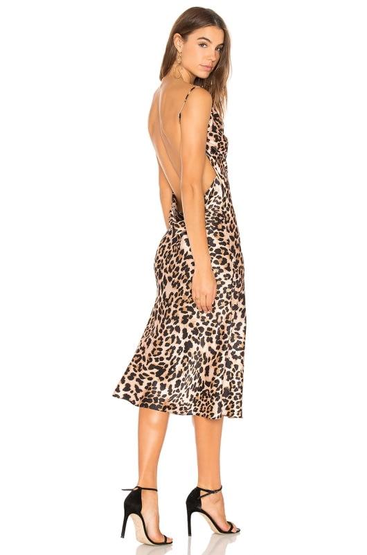 Amanda Uprichard Cowl Midi Dress