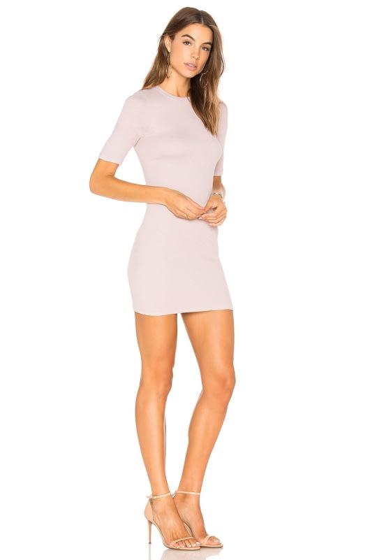 Enza Costa Rib Mini Dress