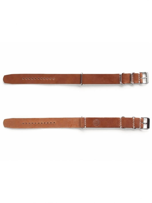Tanner Goods Tanner Goods Nato Watch Strap Natural Cordovan 20mm