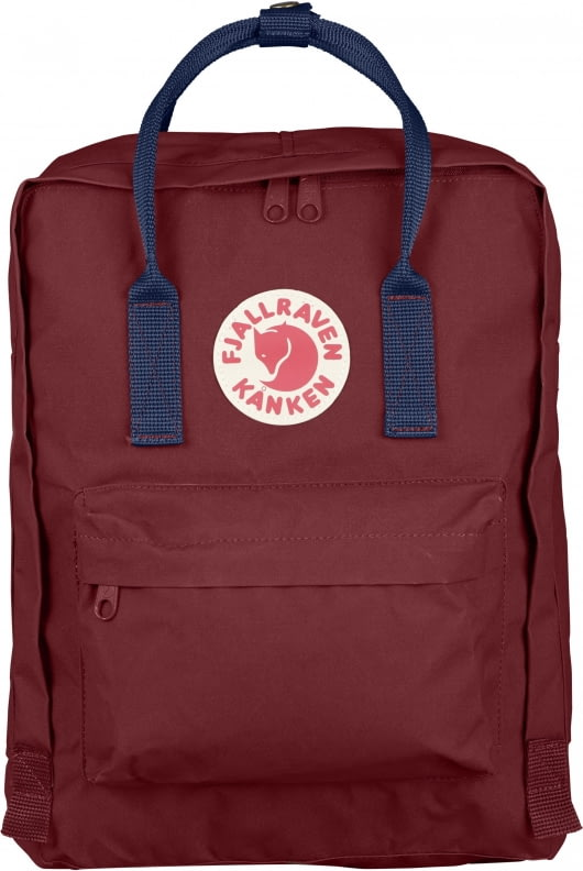 Fjallraven Fjallraven Kanken Classic Backpack Ox Red Royal Blue