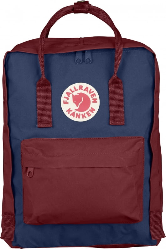 Fjallraven Fjallraven Kanken Classic Backpack Royal Blue Ox Red