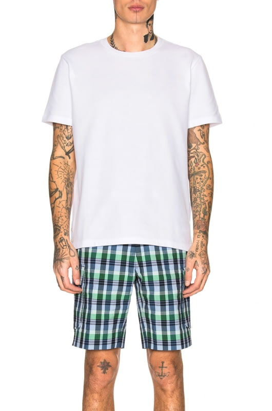 Thom Browne Pique Classic Short Sleeve Tee
