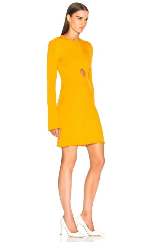 Ellery Holey Sunshine Kid Rib Dress