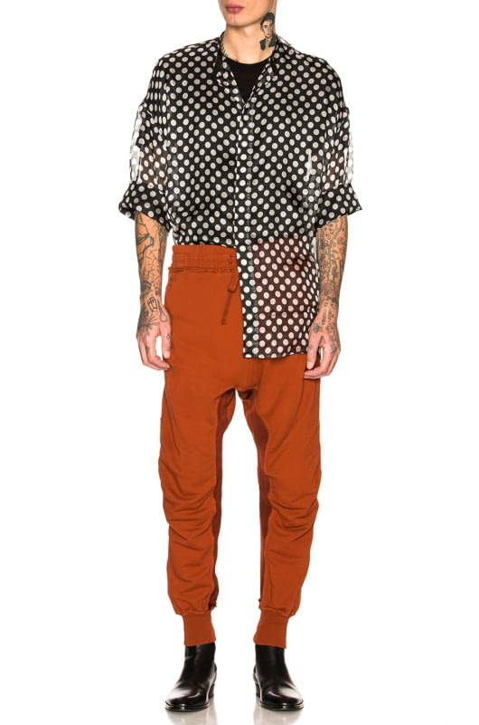 Haider Ackermann Moonshape Jogging Pants