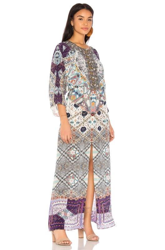 Camilla Long Way Home Split Pocket Dress