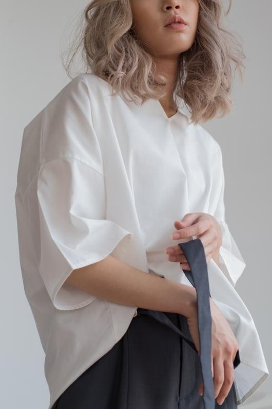 Shopatvelvet PT-019 White