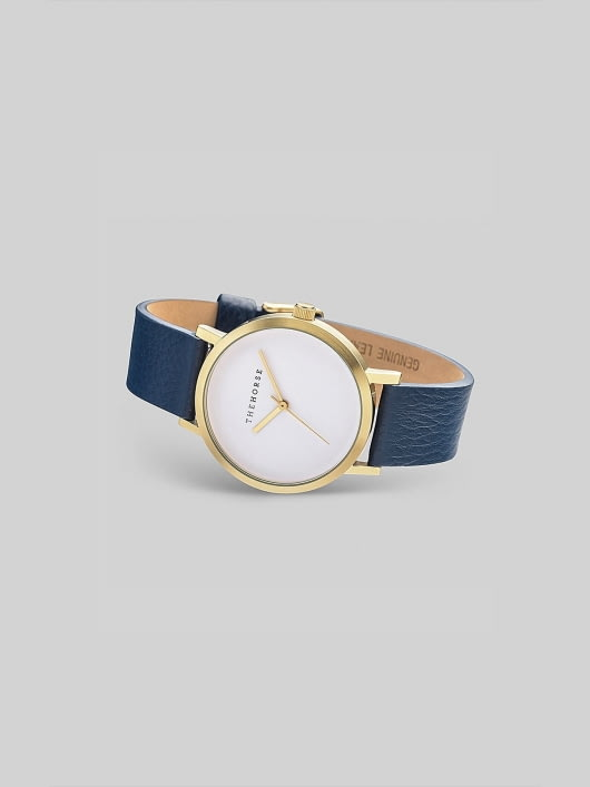 The Horse The Horse Brushed Gold / Navy