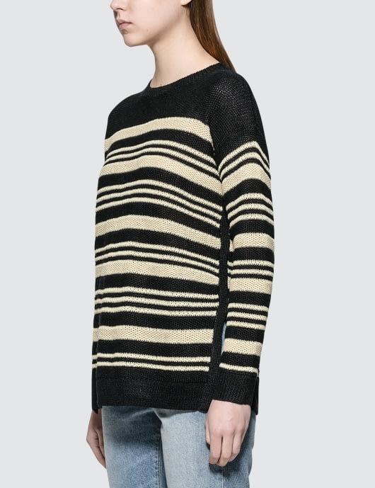 Polo Ralph Lauren Black Stripe Sweater