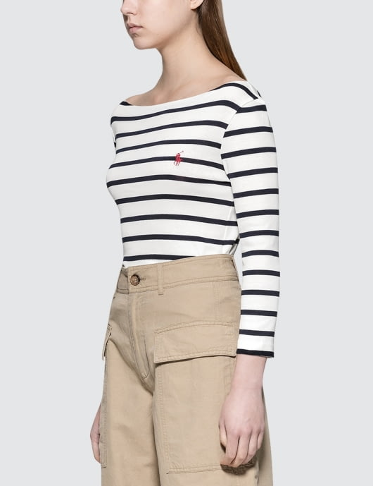 Polo Ralph Lauren S/S T-Shirt with Stripe