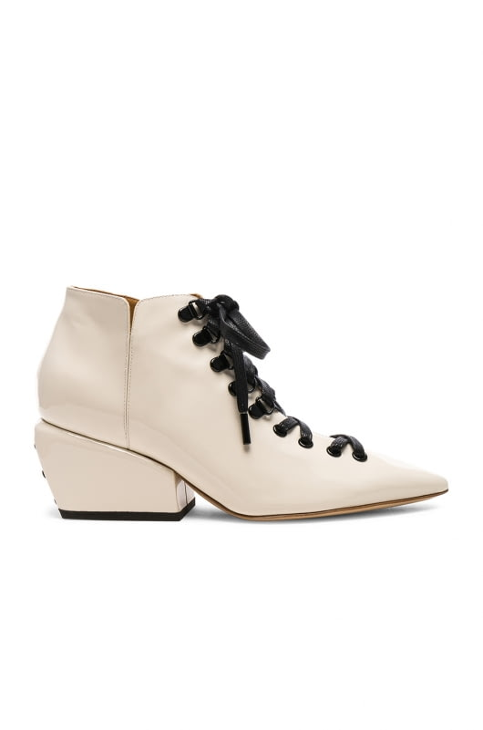 Petar Petrov Patent Leather Sacha Boots