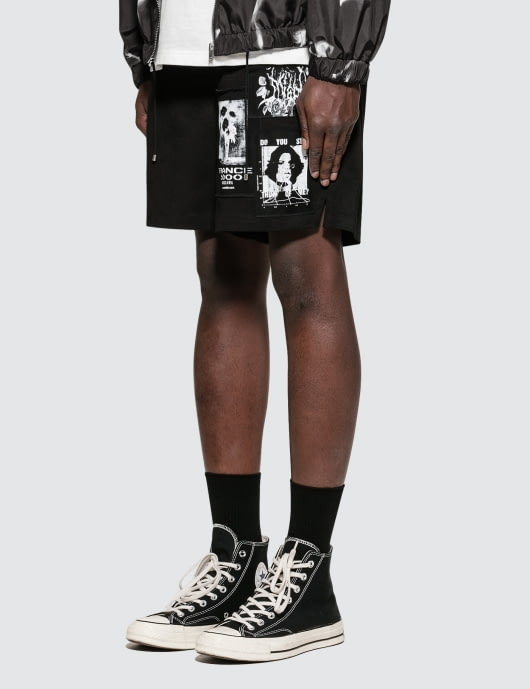 MISBHV Multi-patch Shorts