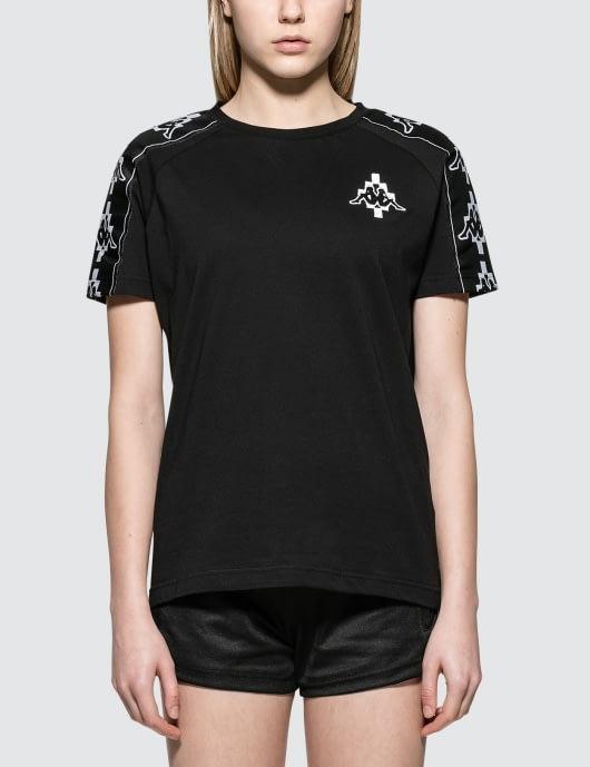 MARCELO BURLON Kappa Tape S/S T-Shirt