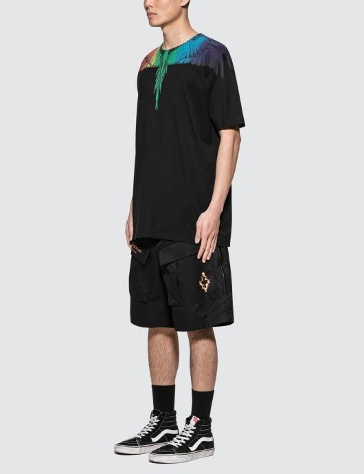 MARCELO BURLON Rainbow Wing T-Shirt