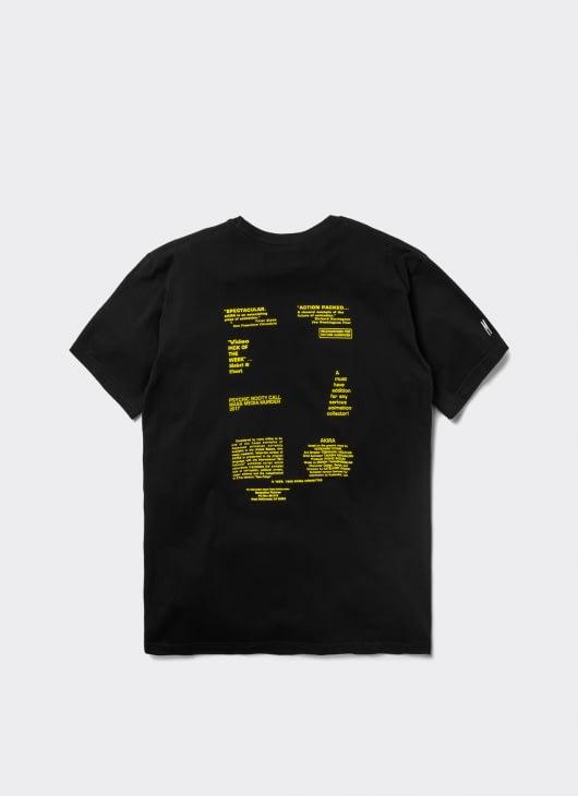 Mass Media Murder Black Cyborg T-Shirt
