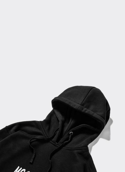 Mass Media Murder Black Arc Logo Hoodie
