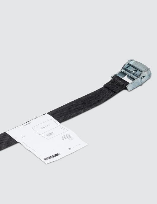 Heliot Emil Small Buckle Belt