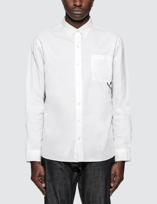 Denim by Vanquish & Fragment Icon Broad Shirt