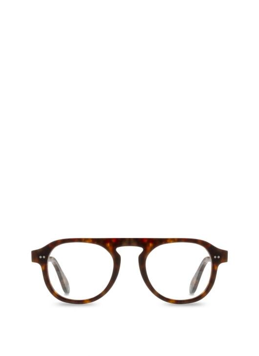 Bridges Eyewear Dark Brown Tortoise Antoing Glasses