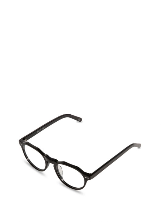 Bridges Eyewear Jet Black Charles Glasses