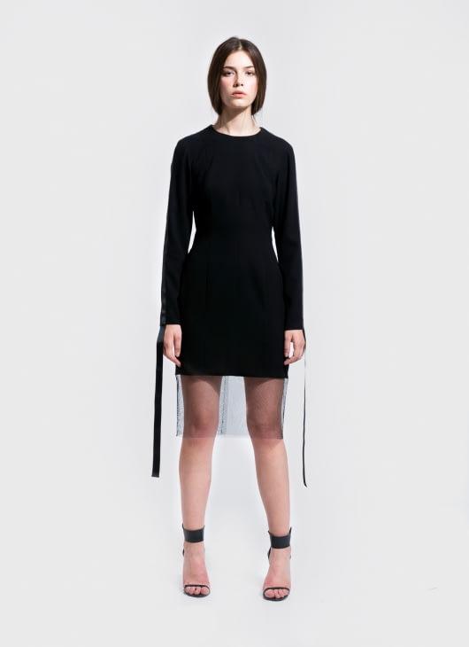 Saint York Black Madison Dress