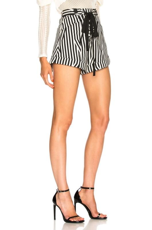 self-portrait Stripe Shorts