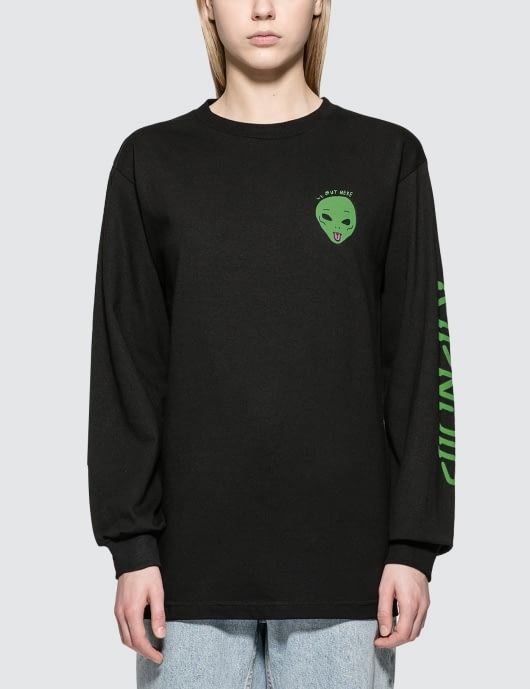 RIPNDIP We Out Here L/S T-Shirt