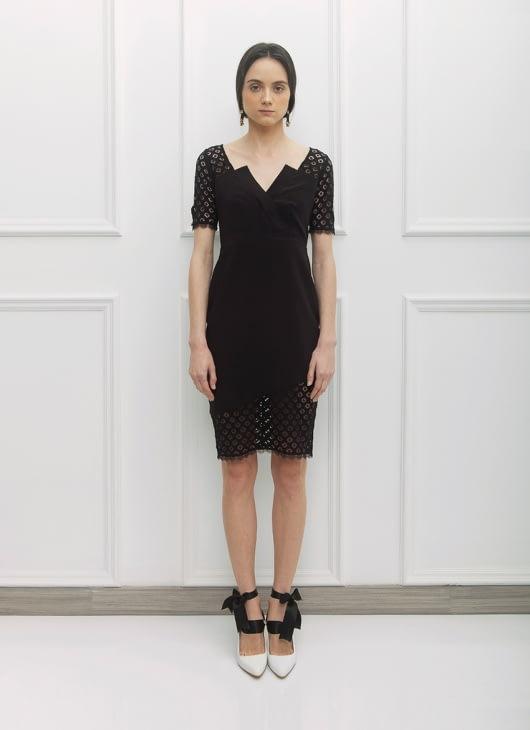 NADIYA Black Ren Dress