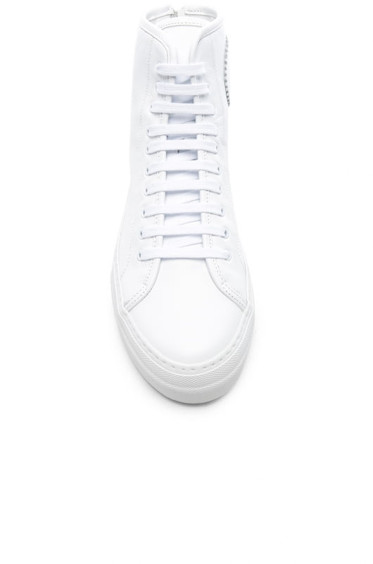 Common Projects Leather High Tournament Super Sneakers
