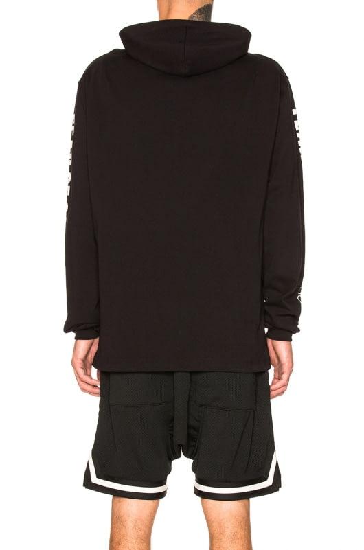 Fear of God Printed Heavy Jersey Long Sleeve Hoodie