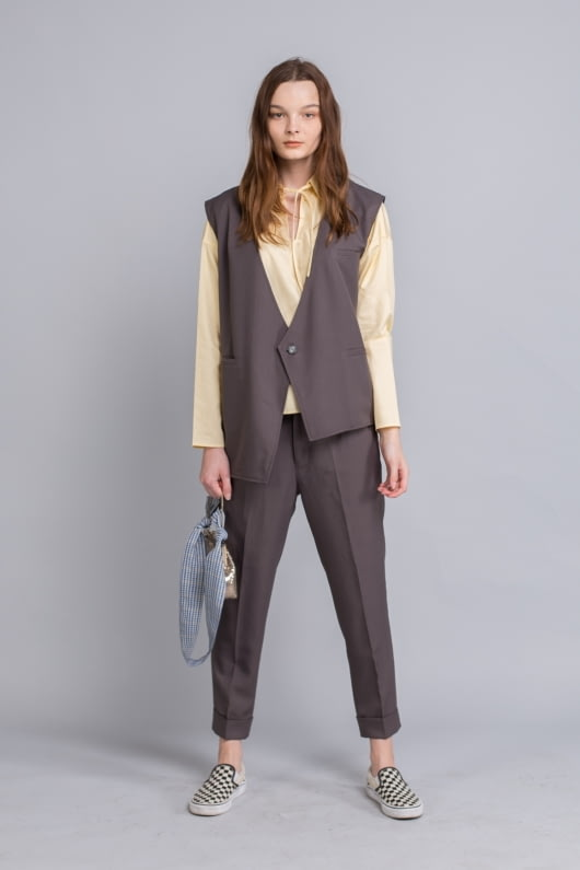 Shopatvelvet Grey Dionne Vest