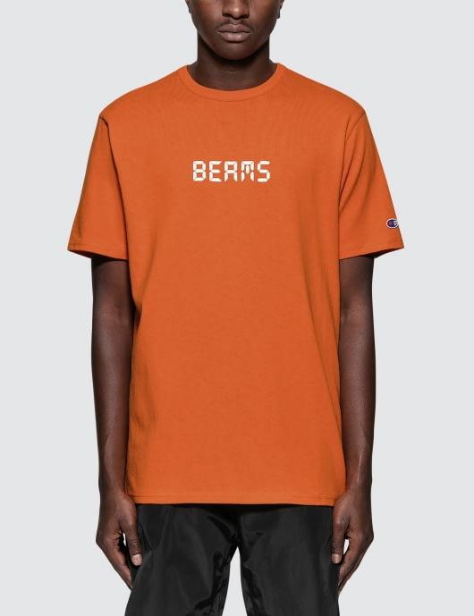 Champion Reverse Weave Beams x Champion Logo S/S T-Shirt