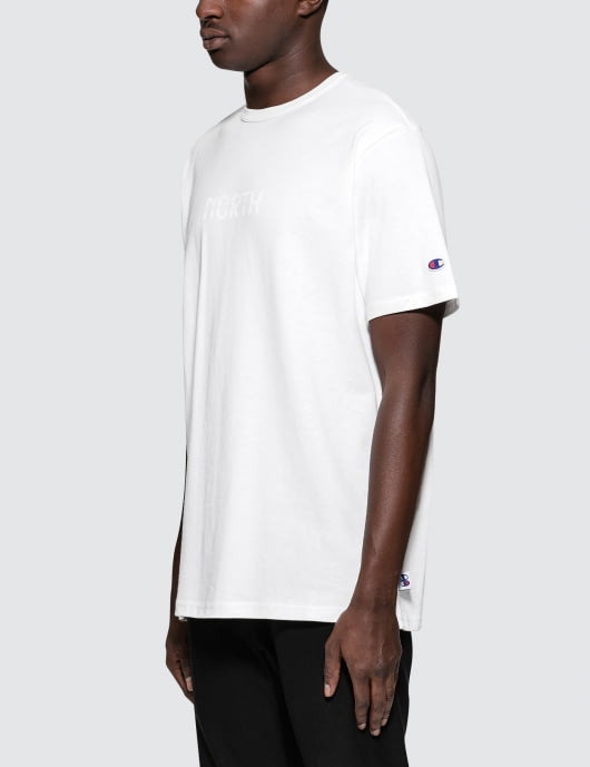 "Champion Reverse Weave Beams x Champion ""North"" S/S T-Shirt"