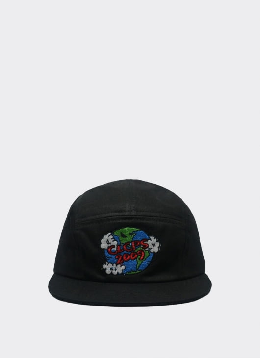 Cool Caps Black WorldWide 5 Panel Caps