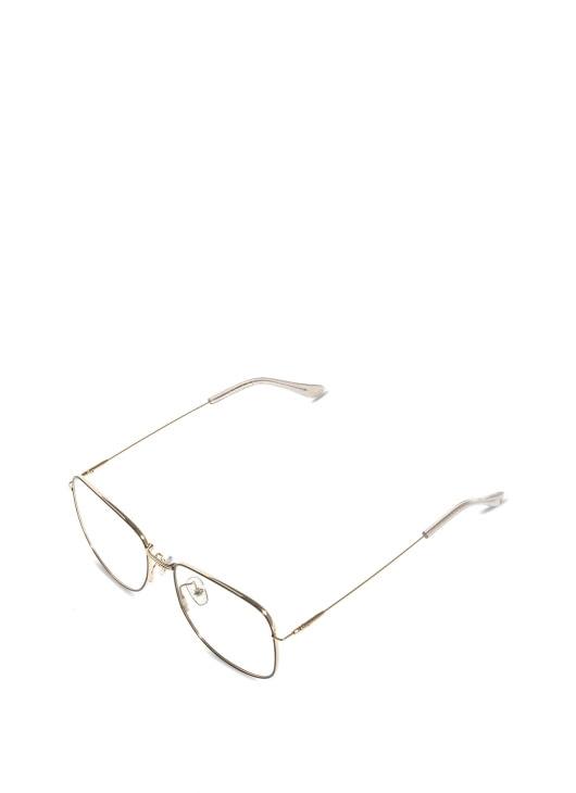 Bridges Eyewear Black Metal & Gold Capilano Glasses