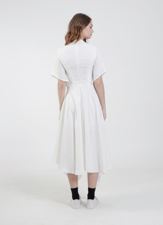 Enigmanifesto White Luna Dress