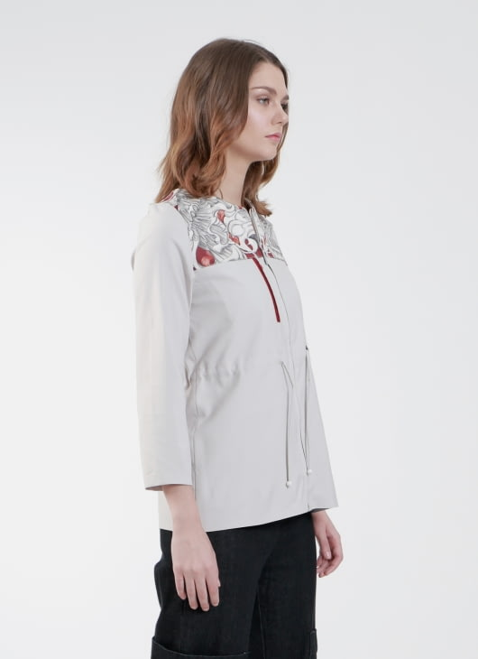 Enigmanifesto Gray Sarus Jacket