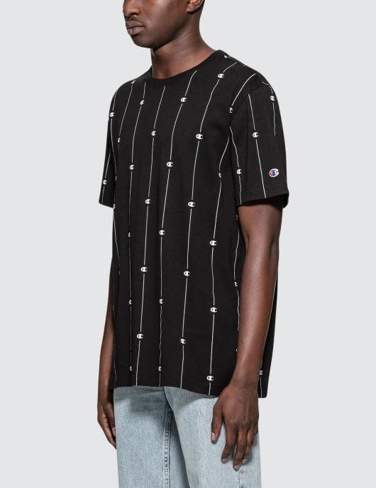 Champion Reverse Weave Allover Logo S/S T-Shirt