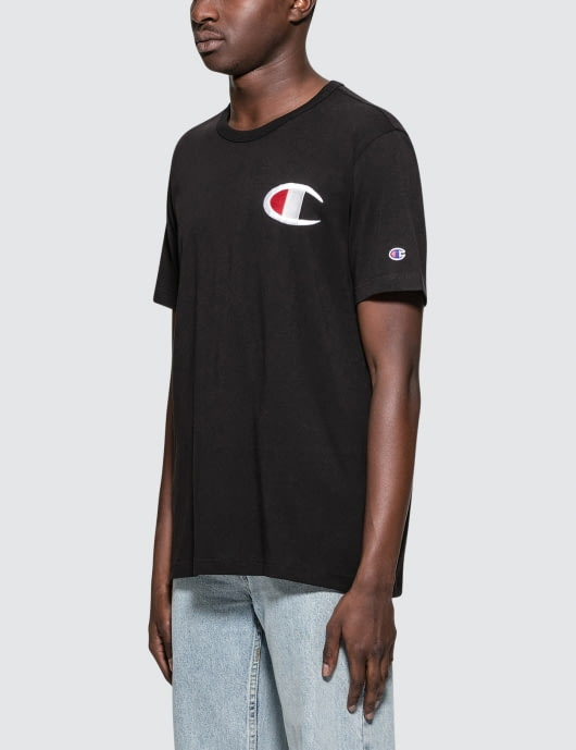 Champion Reverse Weave Big Logo S/S T-Shirt